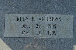 Ruby Frances <i>Graham</i> Andrews