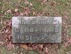 Anna Irene <i>Larimer</i> Carothers