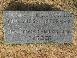 Amos Lister Barber