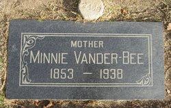 Mina Minnie <i>Mepjans</i> Vander Bee
