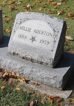 Millie O. <i>Bailey</i> Aderton