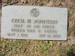 Cecil H Johnson