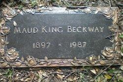 Maud <i>King</i> Beckway