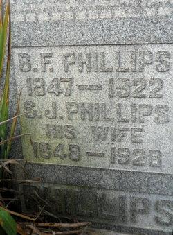 Sarah Jane <i>Hatfield</i> Phillips