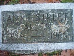 Anne <i>Street</i> Allen