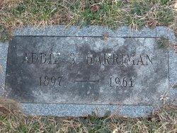 Addie S Harriman