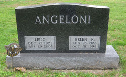 Helen K <i>Phillips</i> Angeloni