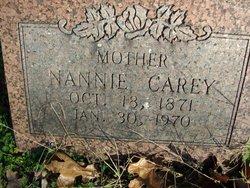 Nannie Carey