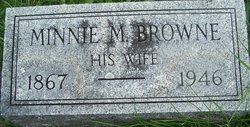Minnie M. <i>Browne</i> Johnston