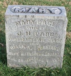Mary <i>Page</i> Parr