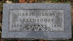 Orrin Henry Ahlensdorf