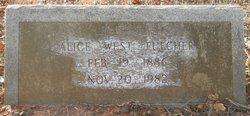 Minnie Alice <i>West</i> Fulcher
