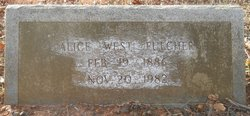 Alice <i>West</i> Fulcher