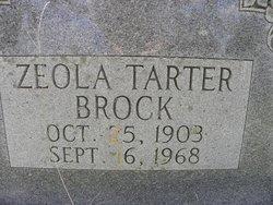 Zeola <i>Tarter</i> Brock