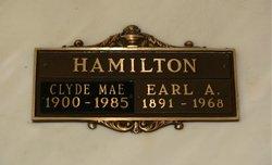 Clyde Mae Hamilton