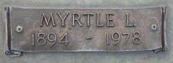 Myrtle Lee <i>Roberts</i> Francis