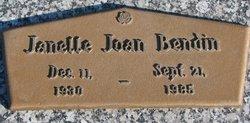 Janelle Joan Bendin