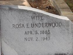 Rosa E <i>Underwood</i> Fields
