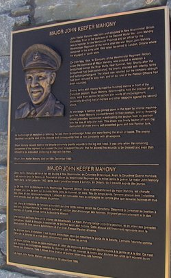 Maj John Keefer Mahony