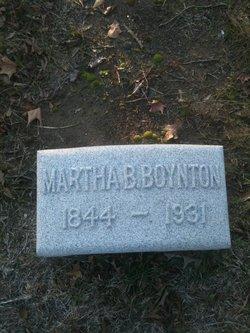 Martha B <i>Fort</i> Boynton