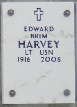 LCDR Edward Brim Harvey