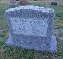 Frederick K Bailey