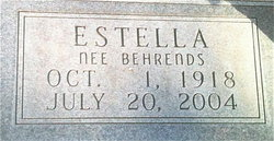 Estella Emma <i>Behrends</i> Beckmann