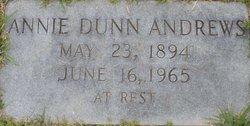 Annie Vaughan <i>Dunn</i> Andrews