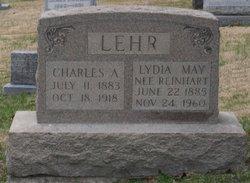 Lydia May <i>Reinhart</i> Lehr