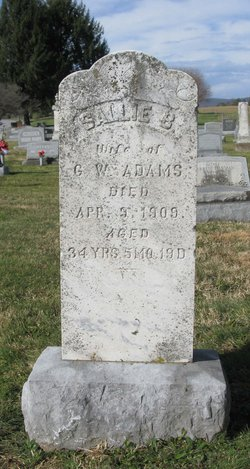 Sallie B <i>Coakley</i> Adams