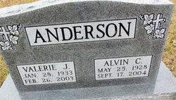 Valerie <i>Elliott</i> Anderson