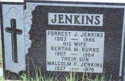Malcolm F Jenkins