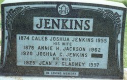 Joshua Caleb Josh Jenkins