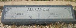 Roxy Virginia <i>Nance</i> Alexander
