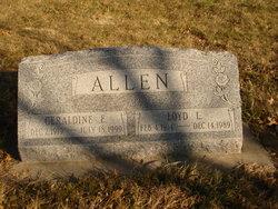 Geraldine E Allen
