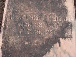 J Beaufort Fields, Jr