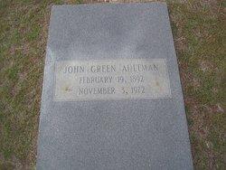 John Green Aultman