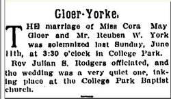 Reuben W. York
