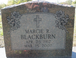 Marcie Ruth <i>Riddle</i> Blackburn