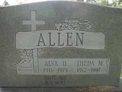 Theda M Allen