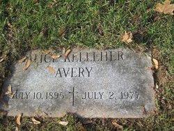 Alice <i>Kelleher</i> Avery