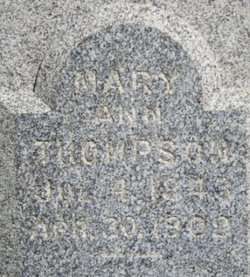 Mary Ann <i>Thompson</i> Brumsey