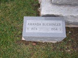 Amanda Mathilde <i>Krueger</i> Buchinger