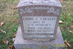 Emma E <i>Calvert</i> Whitelock