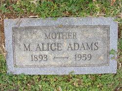 Mary Alice Alice <i>Wolf</i> Adams