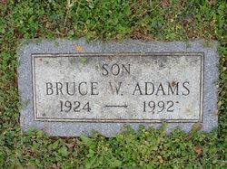 Bruce W Adams