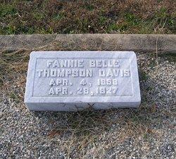 Francis Emma Bell <i>Thompson</i> Davis