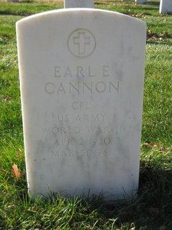 Earl Edward Cannon