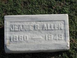 Jane Binning Jeanie <i>Muir</i> Allen