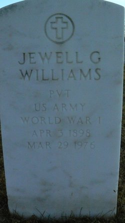 Jewell G Williams